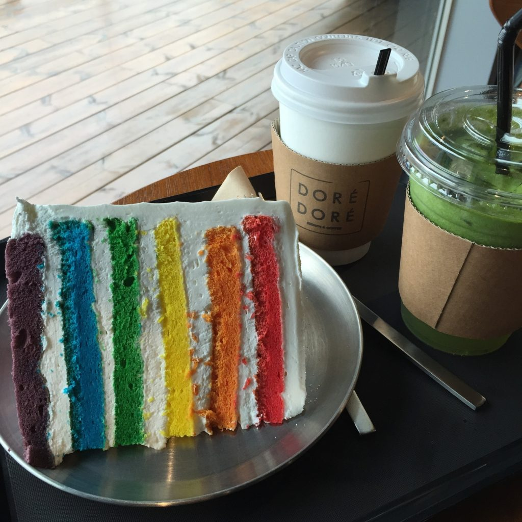 Enjoy Different Flavors With Rainbow Pastry Recipe